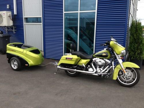 Harley motorcycle trailer